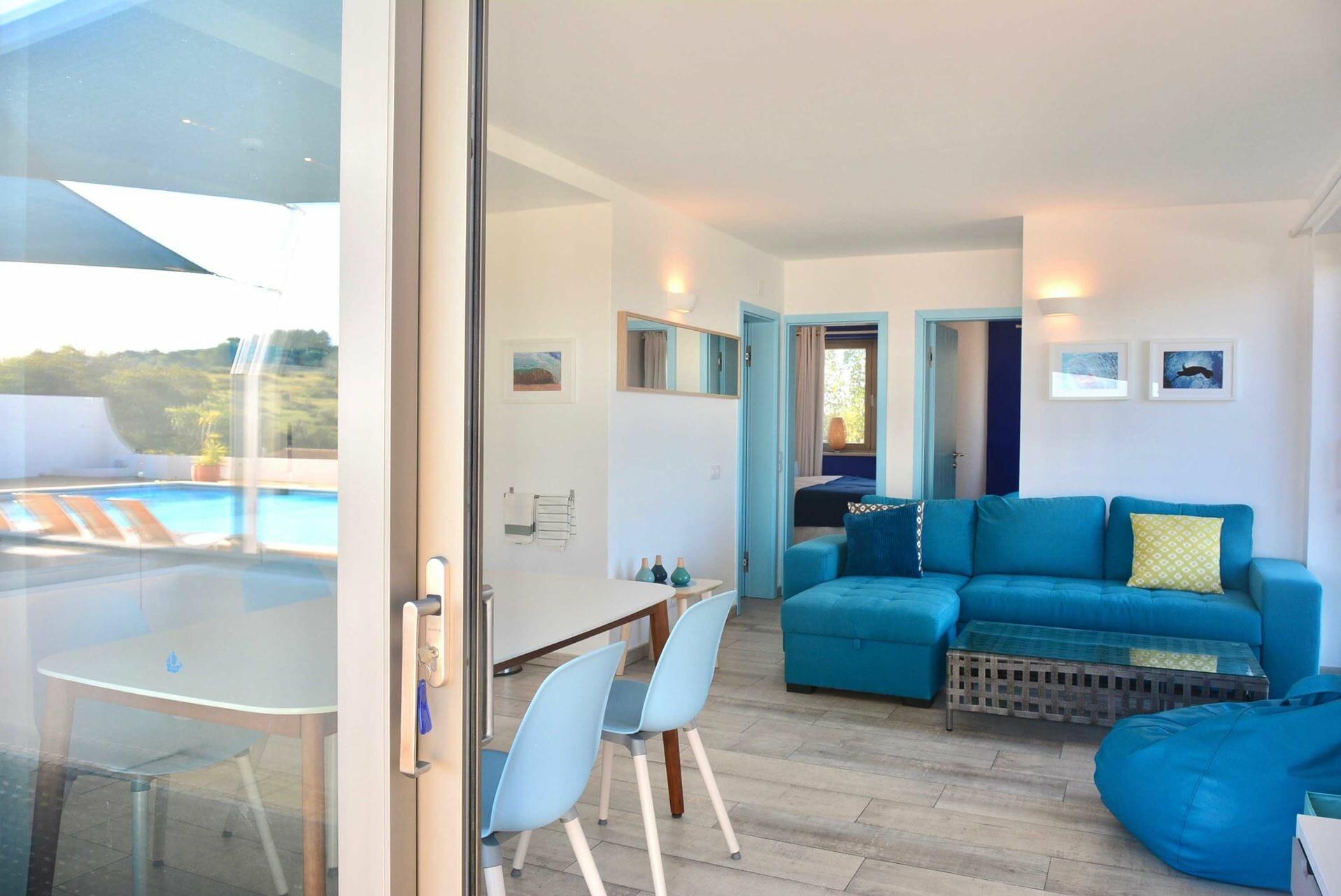 Oceano 2 Bedroom Apartment (1) Ocean Blue Portugal Active Holidays Algarve