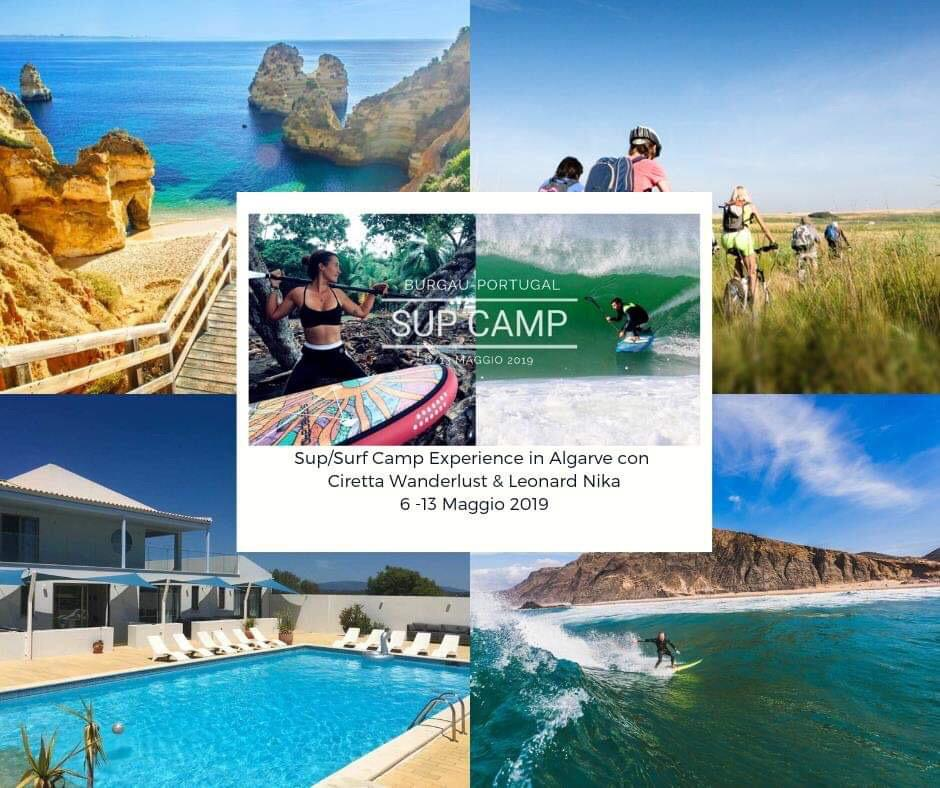 Algarve SUP Camp: 6th-13th May 2019